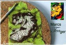 Food Art / eigens kreierte Food Art auf meinem Foodblog http://kuechenkunstwerk.blogspot.de + Inspiration