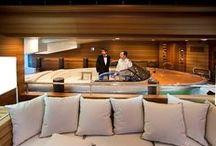 Yacht Interiors / Luxury yacht interiors, superyacht interiors and design.