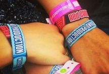 Wristbands & Festivals / Wristbands and Festivals I've worked on