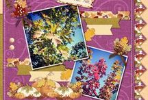 Buncha Scraps Autumn/Fall Collections / Buncha Scraps Autumn/Fall Digital Scrapbooking Graphic Collections for all your Paper Crafting Projects