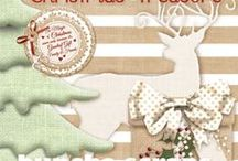 Buncha Scraps Christmas Collections / Buncha Scraps Christmas Digital Scrapbooking Graphic Collections for all your Paper Crafting Projects