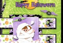 Buncha Scraps Halloween Collections / Buncha Scraps Halloween Digital Scrapbooking Graphic Collections for all your Paper Crafting Projects