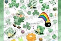 Buncha Scraps St Patrick's Day Collections / Buncha Scraps St Patrick's Day Digital Scrapbooking Graphic Collections for all your Paper Crafting Projects
