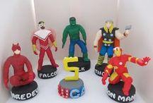 Cake design: Avengers / Topper e torte con i personaggi dell'Avengers