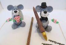 Cake design: Matrimonio / Torte e topper per matrimoni
