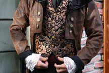 Steampunk and Dark / vestiti e oggetti in style steampunk