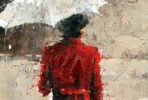 Schilderij inspiratie / Schilderij ideeën.