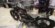 Rigid Harley choppers