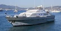 ANTISAN Yacht / ANTISAN is a 33m luxury motor yacht available to charter on the French Riviera from her base in the Port of Cannes.