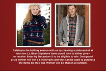 L.L Bean Signature Holiday Wishlist