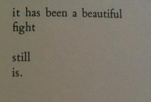Words we breath in / by Honey Bea