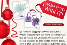 My Wilton Wishlist