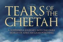 Book: Tears Of The Cheetah - Published December 2015 / Collage Board used for inspiration for Tears Of The Cheetah (Sorry I was not collecting web addresses as this was intended for personal use only - and other than Ivory Lodge, Zimbabwe, De Wildt Cheetah Centre and Cango Wild life Ranch in South Africa, don't know who else to credit in my collections that are pinned all together.)