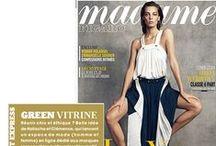 PARUTIONS PRESSE - PRESS RELEASE / Grazia, Le Figaro Madame ... A suivre... !