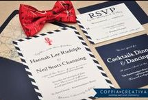 Coppia Creativa - Invitations & Stationery / Custom wedding invitations for your special day.