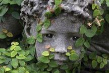 garden design, props ,stone / human + nature = gardens :) / by Ilker Sen