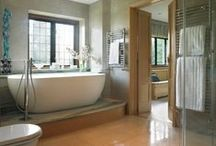 Bedrooms & Bathrooms / Creating a sanctuary, a place of peace and privacy in which to unwind from the day's stressful world