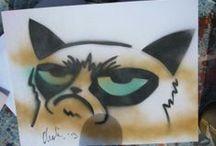 The Grumpy Cat / Hommage à Grumpy Cat