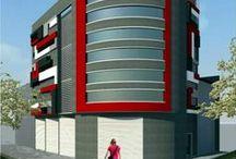 Edificios Comerciales / Edificios comerciales desarrollados en el Area Metropolitana del Valle de Aburrá, por la oficina Claudia Rendón Arquitecta
