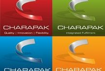 This is Charapak... / This board will be used to explain the uses and benefits of all 4 companies under the Charapak Group brand. If you have any queries or would like to talk to us about a packaging problem you think we could help with - Please call us: 01773 835 735.