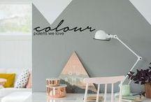 Colour Palettes we LOVE / Colour palettes to get your home decor looking amazing.