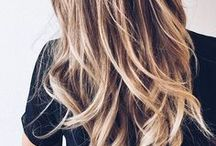 Hair Highlights / Ideas for Hair Highlights and Lowlights for Different Colors Including Brown, Brunettes, and Blonde.