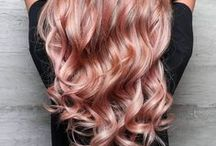 + Hair Color: Rose Gold
