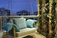 Balconies / Tiny porch