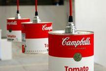 CREA - Lámparas / Lamps / Lámparas originales y bonitas. Ideas para decorar con ellas, hacerlas uno mismo o inspirarte.
