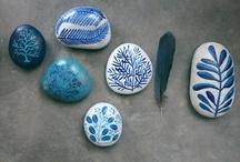CREA - Painted stones / ideas e inspiración para pintar piedras