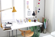 DECO - Work and Creative places / Ideas de decoración para talleres y despachos