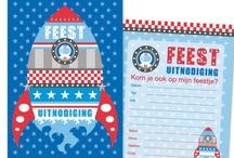 Uitnodigingen / www.hipenstipkaarten.nl