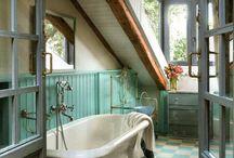 Interiors: La salle de bains/The bathroom / #salledebains #bathroom