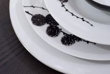 Glass and tableware / ta·ble·ware (tbl-wâr) n. The dishes, glassware, and silverware used in setting a table for a meal.