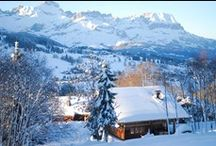 Châtel - French Alps / Situated at the end of the picturesque and rural Abondance valley and set between Lake Geneva and the Mont-Blanc, Chatel boasts a romantic atmosphere with traditional rustic charm