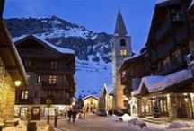 Val d'Isere - French Alps / Val d'Isere is one of the most exclusive French resorts and has achieved the kudos of the one of the world's finest resort.