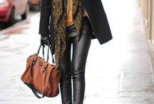Leather pants / Looking for the perfect way to style those amazing new leather pants?