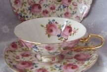 Antique Cups & Saucers l love