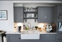 INSPIRATION- Kitchen/Dining / At Absolute we have experience of working with many different kitchen designers and fitters.  We advise our clients on styles they may like, budgets and enlist the help of our preferred suppliers to get the best kitchen for the budget, layout and desires of the client.