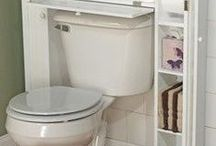 Bathroom Organiser Tips / Handy tips for bathroom & toilet areas