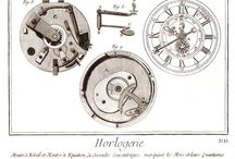 horology / beautiful clocks and watches and their inner parts