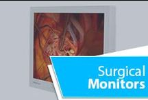 Surgical Monitors / Medvix AMVX® series displays offer features and benefits for the most demanding hospitals. Medvix HD surgical LCD displays consists of an antibacterial-treated display enclosure, preventing biodeterioration or odor on the display. They combine unsurpassed clarity, a lightweight design that include the latest technologies to create a reliable and cost-effective way to assist in surgical and endoscopic applications. Visit our website for more information: www.medvix.com
