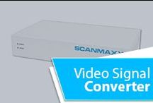 Video Signal Converter / Scanmaxx is the premier autosync modality video signal converter. A complete line of products provides upscaling to 2mp technology or downscaling to meet the needs of your analog system. Visit our website for more information: www.scanmaxx.com
