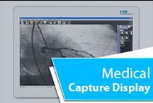 Medical Capture Display / Ampronix can capture, analyze, and transfer full HD medical video