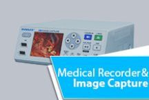 Medical Recorder and Image Capture / The DVMAXX HD is latest high-definition medical video recorder and image capture designed for quick set up and ease of use. With auto sensing video connections and automatic video resolution detection, set up is quick and easy. The front control panel allows users to intuitively record videos and photos in crystal clear HD, and a built in hard drive allows for simultaneous recording to protect your data.