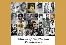 Harlem Renaissance / African-American poets, musicians, actors, artists and intellectuals who  moved to Harlem in New York City during the early 20th century and brought new ideas that shifted the culture forever.