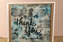 greeting cards - thank you / Greeting cards expressing gratitude.