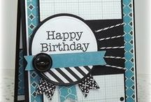 greeting cards - birthdays / Cards to celebrate a birthday.