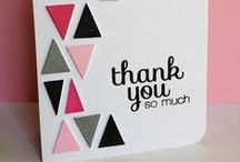 greeting cards - geometric / Greeting cards that have awesome geometric shapes in the design.