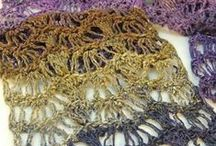Crochet Cowls & Scarves / Crochet ideas for cowls and scarves